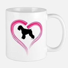 Heart My Schnauzer Natural Ea Mug