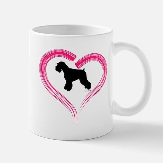 Heart My Schnauzer Natural Ea Mug
