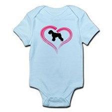 Heart My Schnauzer Natural Ea Infant Bodysuit