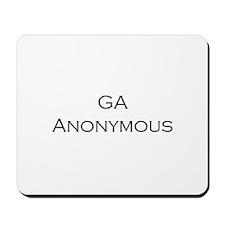 GA Anonymous Mousepad