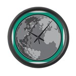 Golf world Large Wall Clock