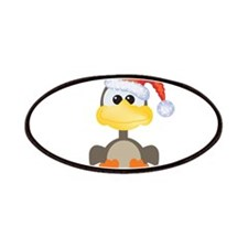 Cute Christmas Goose Santa Patches