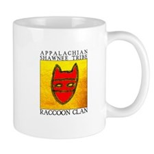 Raccoon Clan Yellow Mug
