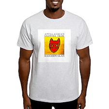 Raccoon Clan Yellow T-Shirt