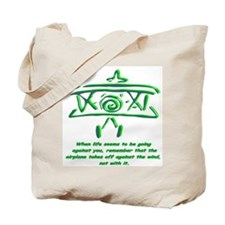 """""""Against the wind"""" Tote Bag"""