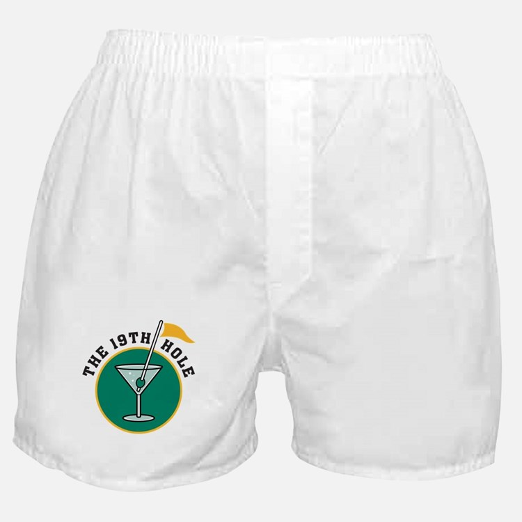 19th Hole Boxer Shorts