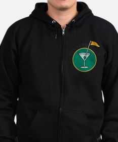 19th Hole Zip Hoodie (dark)