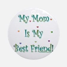 My Best Friend Ornament (Round)