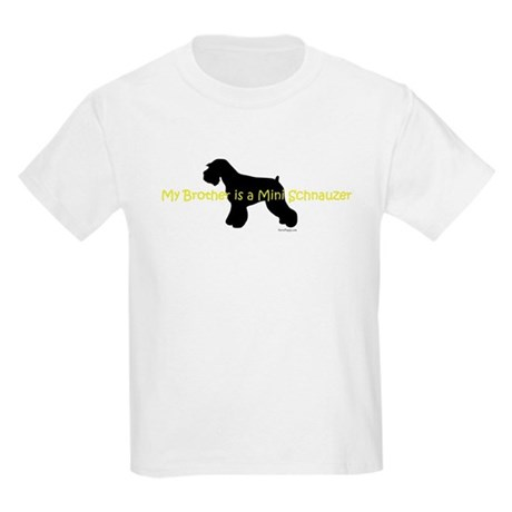 My Brother is a Mini Schnauze Kids Light T-Shirt