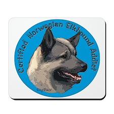 Norwegian elkhound Addict Mousepad