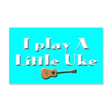 Play a little Uke 22x14 Wall Peel