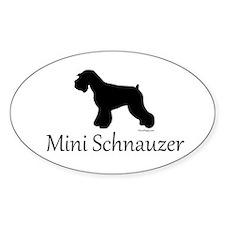 Mini Schnauzer Decal