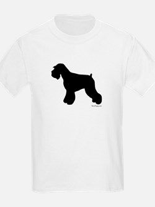 Plain Mini Schnauzer T-Shirt