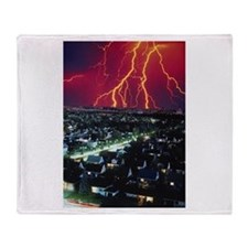 Storm Coming Throw Blanket