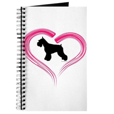 Heart My Schnauzer Journal