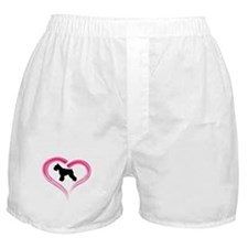 Heart My Schnauzer Boxer Shorts