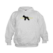My Sister is a Mini Schnauzer Hoodie