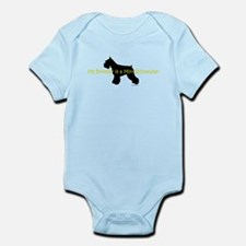 My Brother is a Mini Schnauze Infant Bodysuit