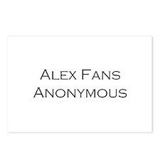 Alex Fans Postcards (Package of 8)