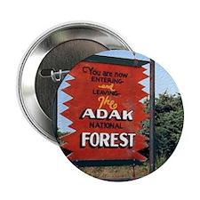 """Adak Sign 2.25"""" Button"""