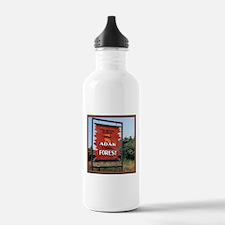 Adak Sign Water Bottle