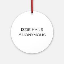Izzie Fans Ornament (Round)