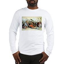 Retro City Boardwalk Parade Long Sleeve T-Shirt