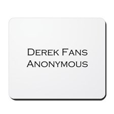 Derek Fans Mousepad