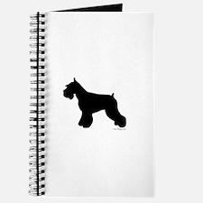 Plain Mini Schnauzer Journal
