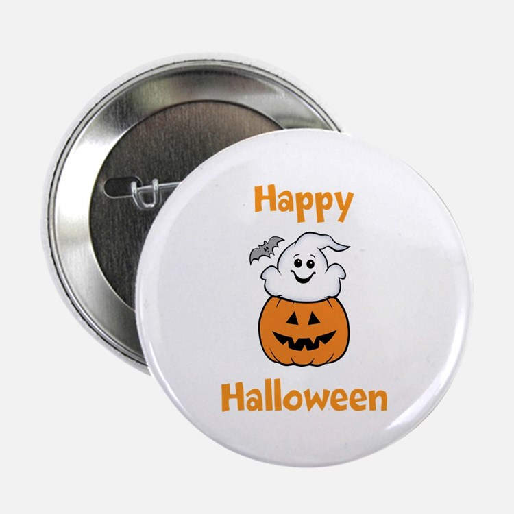 "[Your text] Cute Halloween 2.25"" Button (10 pack)"