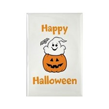 [Your text] Cute Halloween Rectangle Magnet