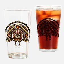 Fall Turkey Pint Glass