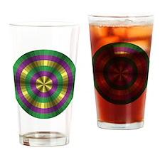 Mardi Gras Illusion Pint Glass