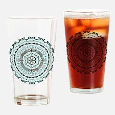 Lotus Weave Pint Glass