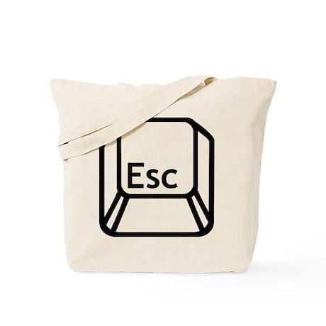 Esc Escape button Tote Bag