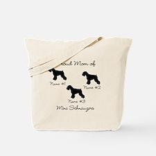 3 Schnauzers Tote Bag