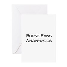 Burke Fans Greeting Cards (Pk of 10)
