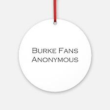 Burke Fans Ornament (Round)