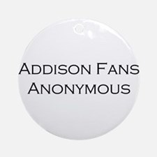 Addison Fans Ornament (Round)