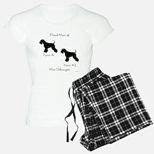 2 Schnauzers Pajamas