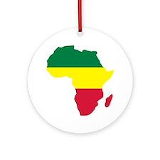 Africa Reggae Ornament (Round)
