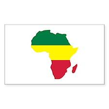 Africa Reggae Decal