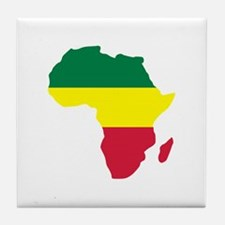 Africa Reggae Tile Coaster