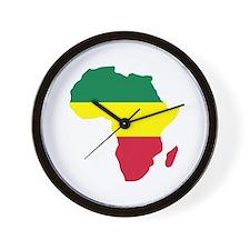 Africa Reggae Wall Clock