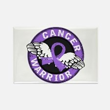 Hodgkin's Lymphoma Warrior Rectangle Magnet