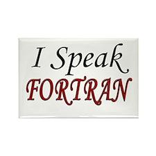 """""""I Speak FORTRAN"""" Rectangle Magnet (100 pack)"""
