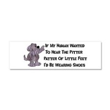 Child-Free Puppy Dog Car Magnet 10 x 3