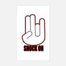 Shock on - Red Decal