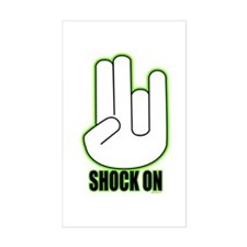 Shock on - Green Decal