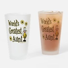 Aunt Bumble Bee Pint Glass